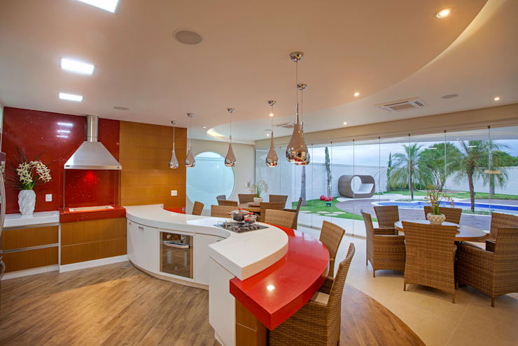 Kitchen by Designer de Interiores e Paisagista Iara Kílaris