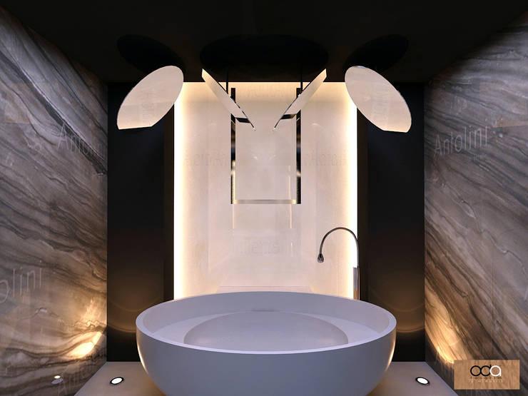 Oda Tasarım İçmimarlık – KONUT PROJESİ:  tarz Banyo