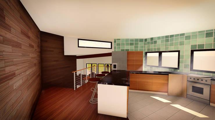 Cocina: Cocinas de estilo  por GerSS Arquitectos