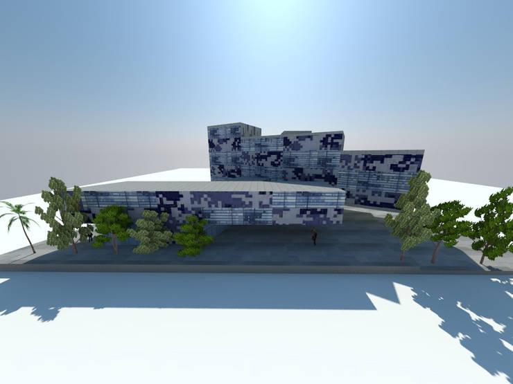 1: Edificios de Oficinas de estilo  por ARQUITECTURA VANGUARDIA