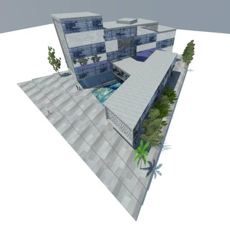 3: Edificios de Oficinas de estilo  por ARQUITECTURA VANGUARDIA