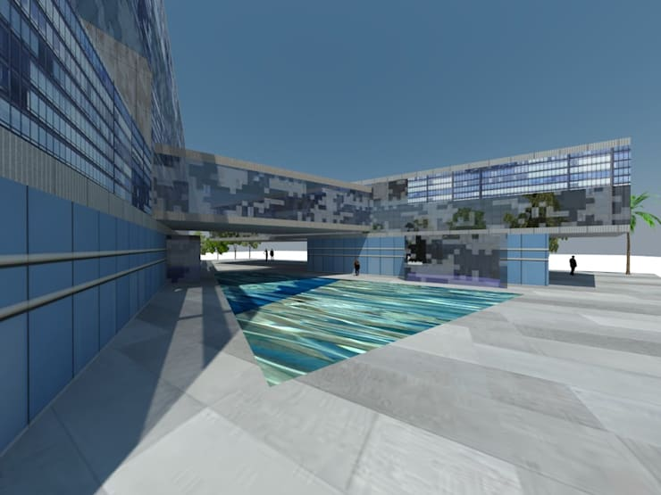 concurso edificio publico: Hoteles de estilo  por ARQUITECTURA VANGUARDIA