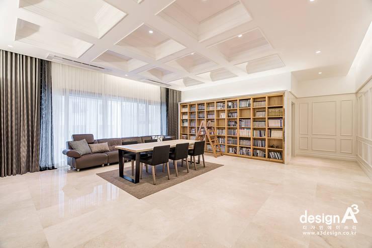 고급스런 클래식의 향연: Design A3의  거실