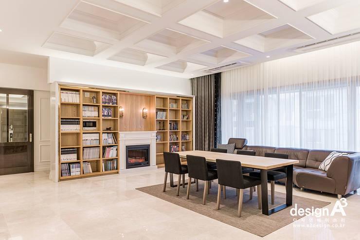 고급스런 클래식의 향연: Design A3의  거실,클래식
