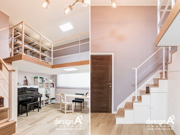 고급스런 클래식의 향연: Design A3의  아이방