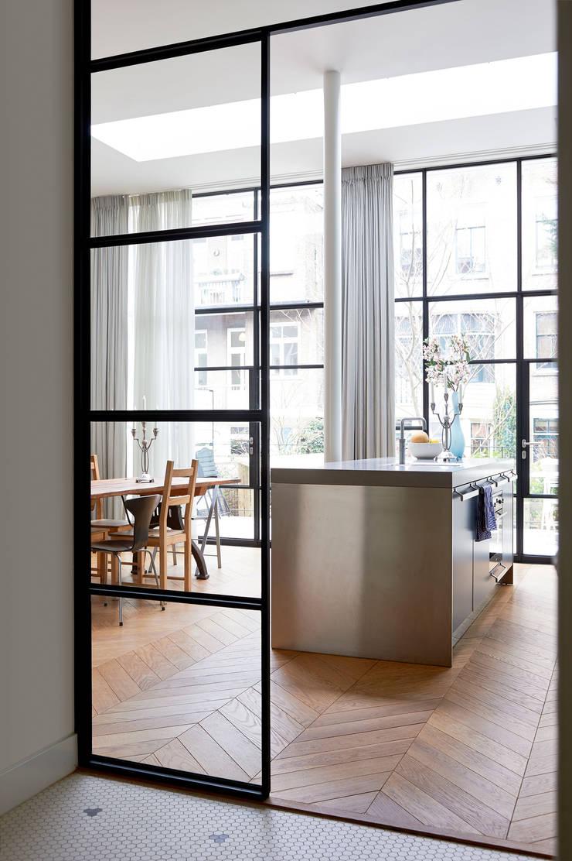 Herenhuis 1890, Amsterdam:  Keuken door VASD interieur & architectuur