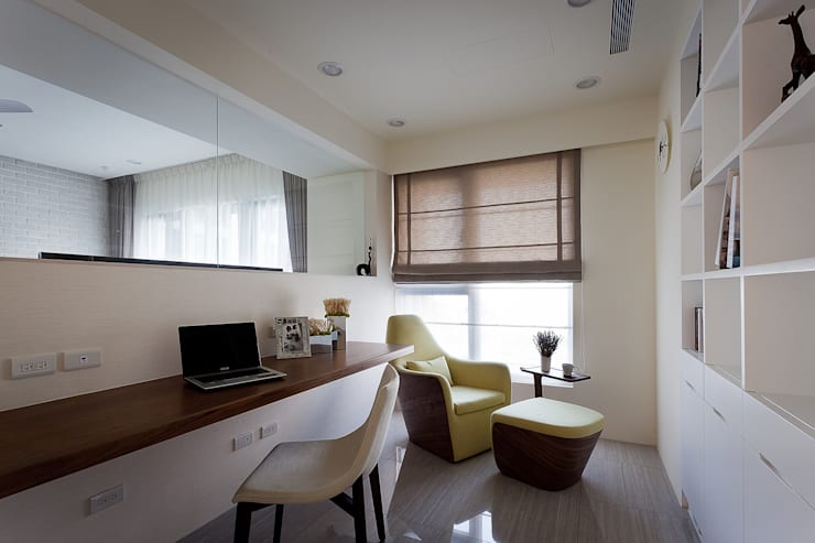 風雅:  書房/辦公室 by Heng Yueh 恆岳設計