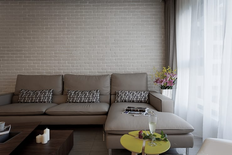 風雅:  客廳 by Heng Yueh 恆岳設計