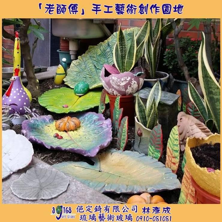 庭院佈置:  花園 by 俋定錡有限公司