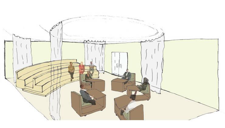 3d tekening:  Kantoren & winkels door Lavelli interieurontwerp