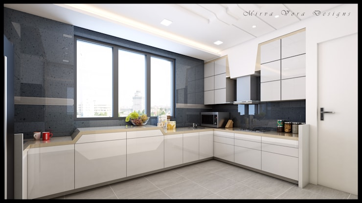 3D Designs By Mirva Vora Designs.:  Kitchen by Mirva Vora Designs