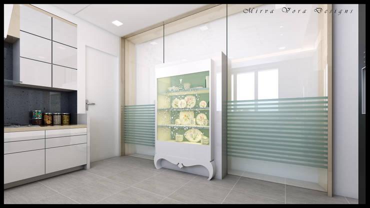 3D Designs By Mirva Vora Designs.: classic Kitchen by Mirva Vora Designs