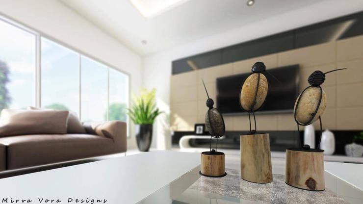 3D Designs By Mirva Vora Designs.:  Living room by Mirva Vora Designs