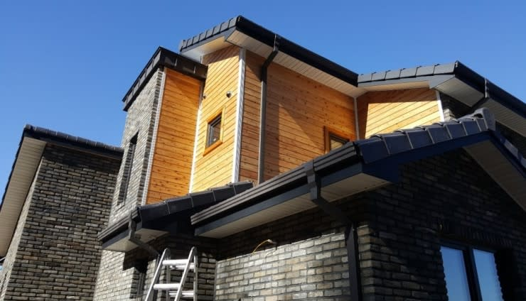 상주 평지리 : Goodhaus의  주택