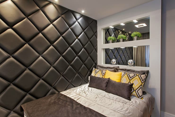 Recámaras de estilo  por Designer de Interiores e Paisagista Iara Kílaris