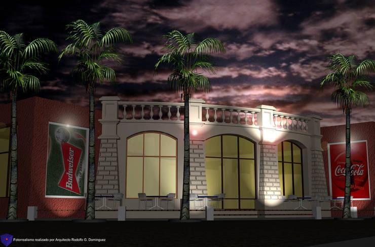 酒吧&夜店 by Valy, 隨意取材風 磚塊