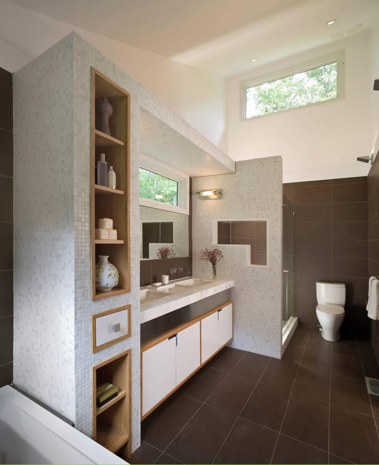 Bathroom by Eisner Design