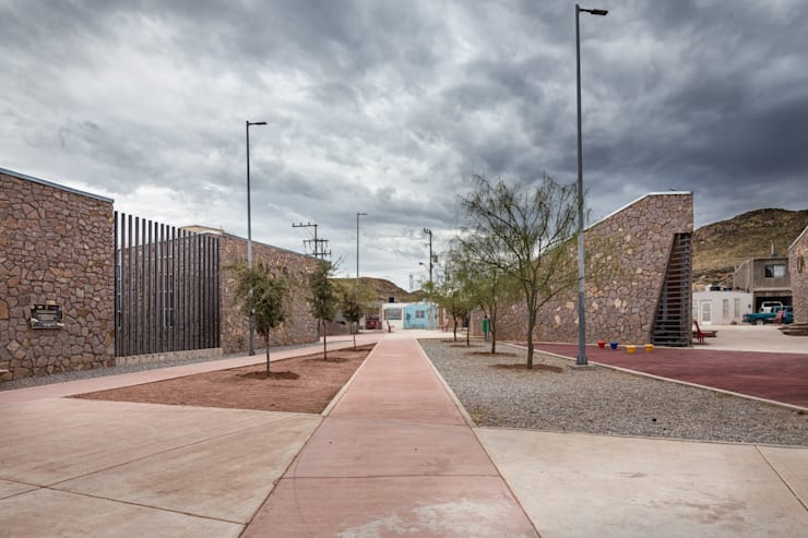 Koridor dan lorong oleh ARQUITECTURA EN PROCESO, Eklektik Batu