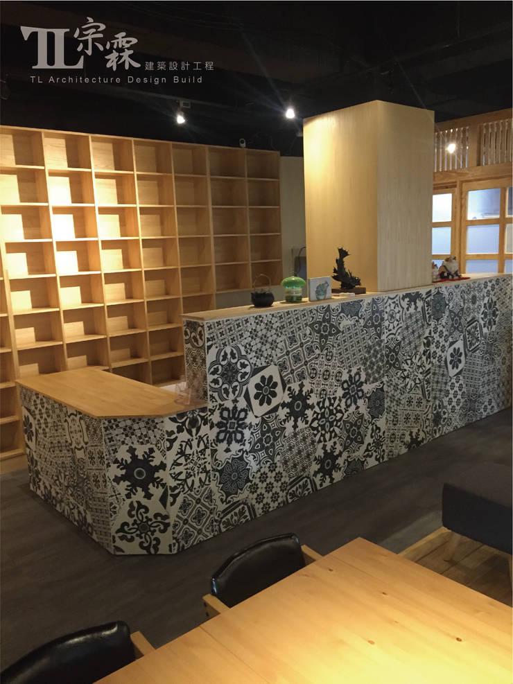 櫃檯:  辦公室&店面 by 宗霖建築設計工程