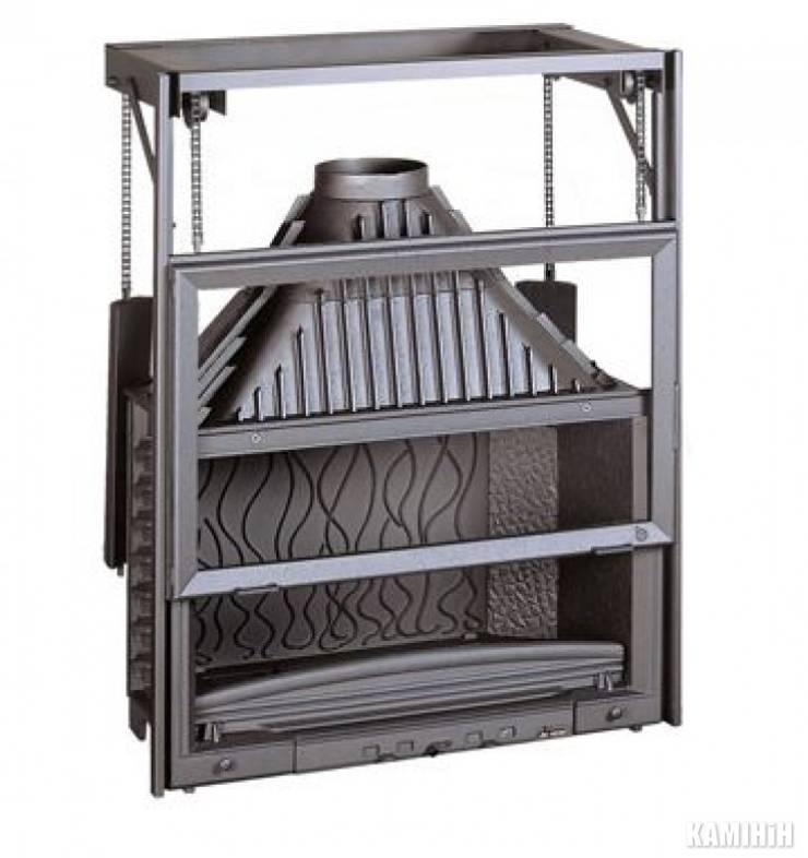 Alpina Şömine – Invicta Grande Vision 90 lık Asansörlü Hazne:  tarz , Endüstriyel Demir/Çelik
