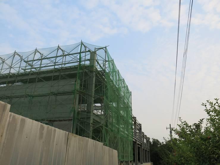 嘉義NW工廠:  房子 by 兆博建築