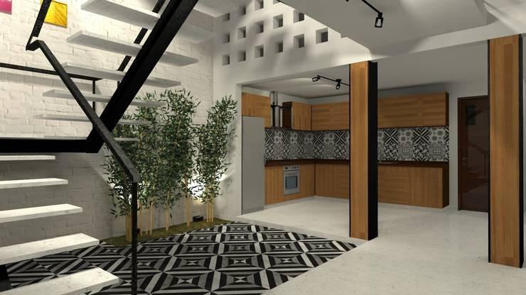 Projekty,   zaprojektowane przez FRACTAL estudio + arquitectura