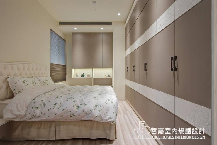臥室:  臥室 by 哲嘉室內規劃設計有限公司