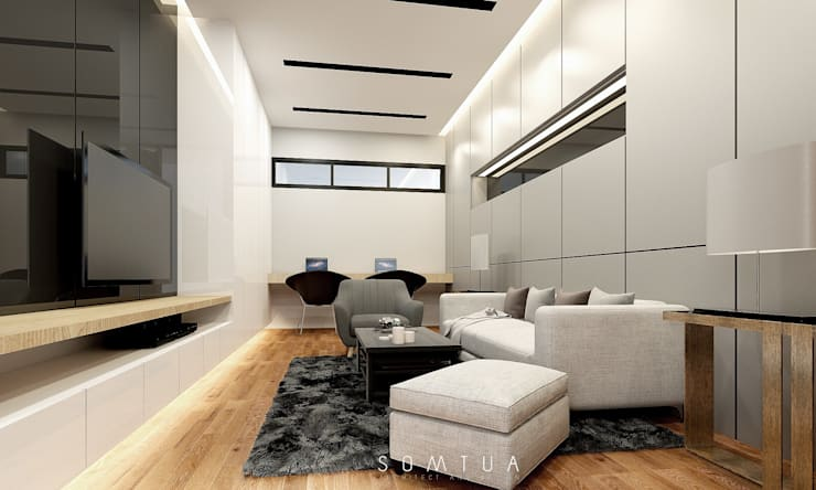 INTERIOR KHUN N'ong.:   by somtua archiect and design