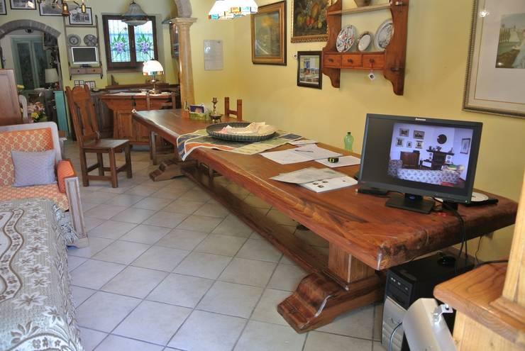Tavolo taverna sala hobbies in legno su misura artigianale for Hobby del legno