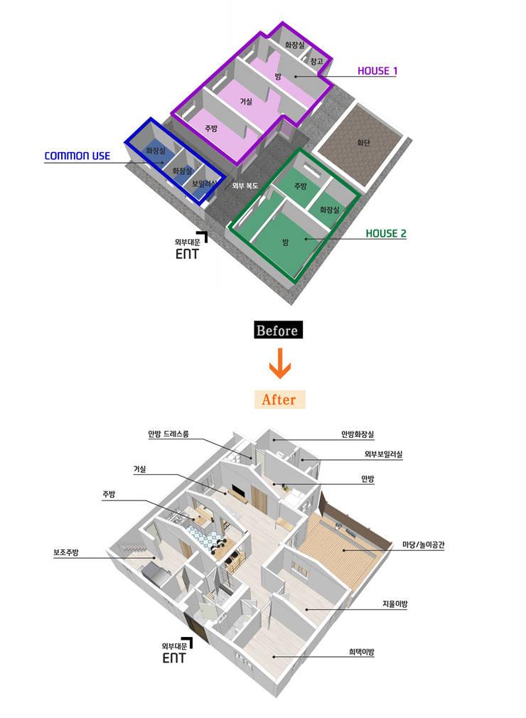 경화동 주택 : 핸디디자인 의