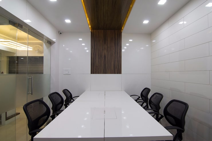 Conference Room 2:  Office buildings by A A Studio Architects
