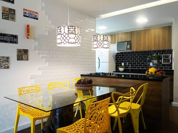 Cocinas de estilo  por Priscila Boldrini Design e Arquitetura