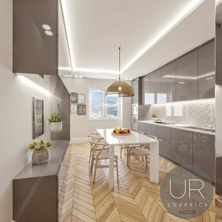 modern Kitchen by Uğur RİCA İÇ MİMARLIK