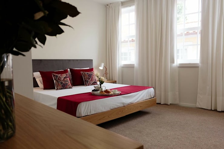 Perspectiva : Hotéis  por Alma Braguesa Furniture