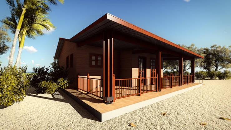 Casas de estilo  por JMGLL - Arquitecto