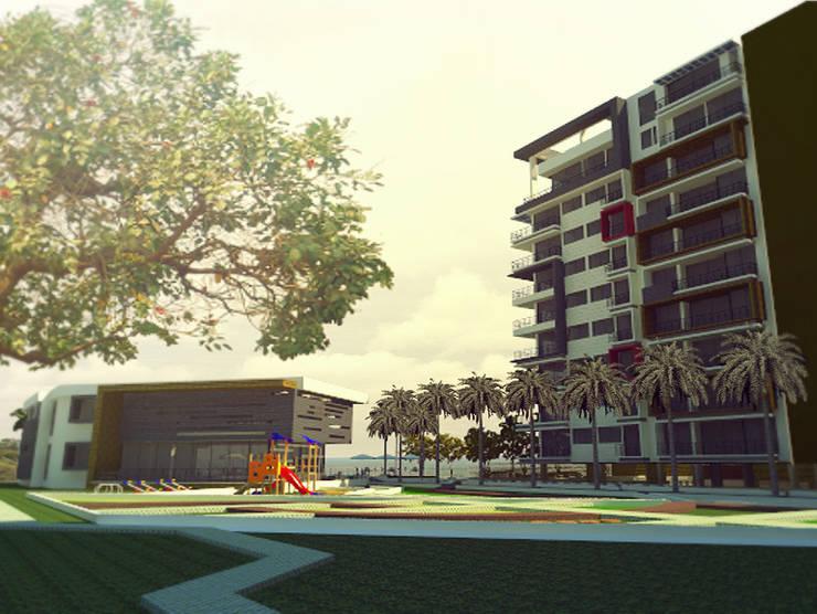 INTERIOR: Casas de estilo moderno por IngeniARQ