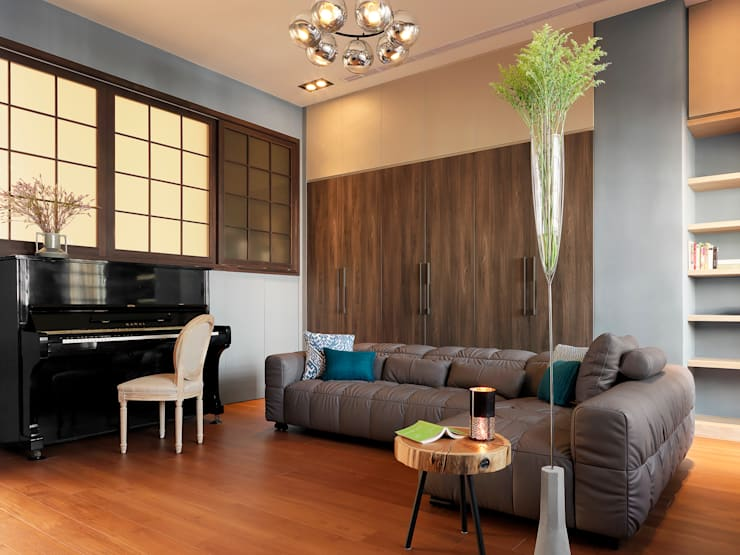 賀澤室內設計 HOZO_interior_designが手掛けたリビング