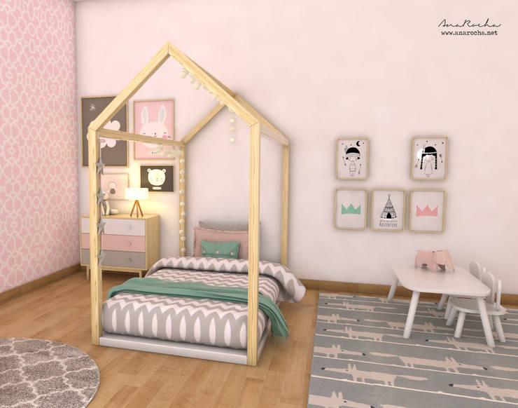 scandinavian Nursery/kid's room by Ana Rocha