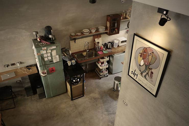 Kitchen by 日常鉄件製作所, Eclectic