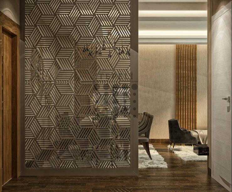Koridor dan lorong by Tepeli İç Mimarlık
