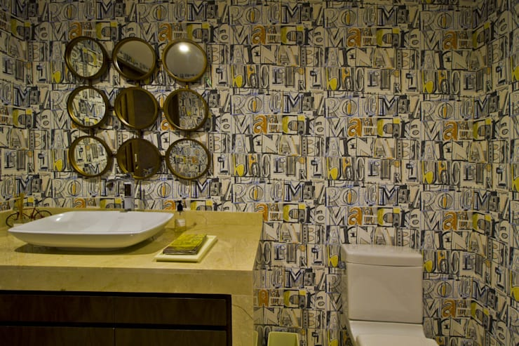 Paugui - DIN Interiorismo: Baños de estilo  por DIN Interiorismo