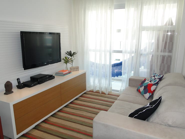 modern Living room by Priscila Boldrini Design e Arquitetura