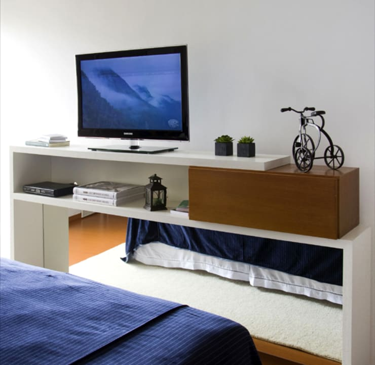 modern Bedroom by Priscila Boldrini Design e Arquitetura