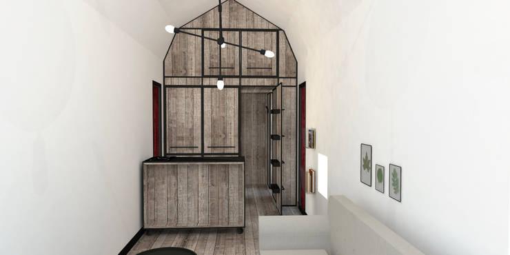Living room by Ophélie Dohy architecte d'intérieur