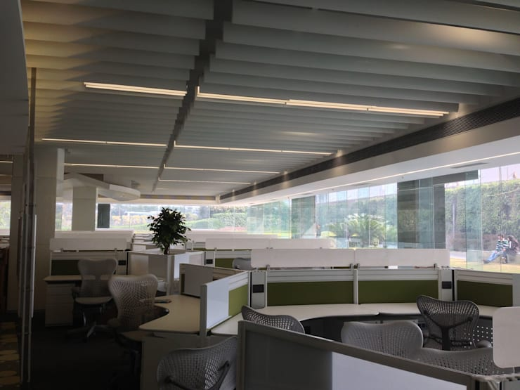 Workstation-2:  Commercial Spaces by Suकृति