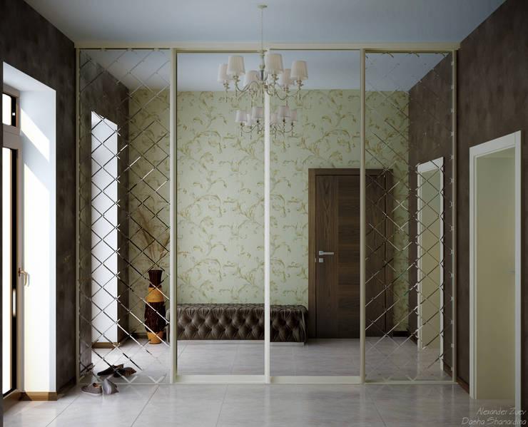 Koridor dan lorong by Студия интерьерного дизайна happy.design