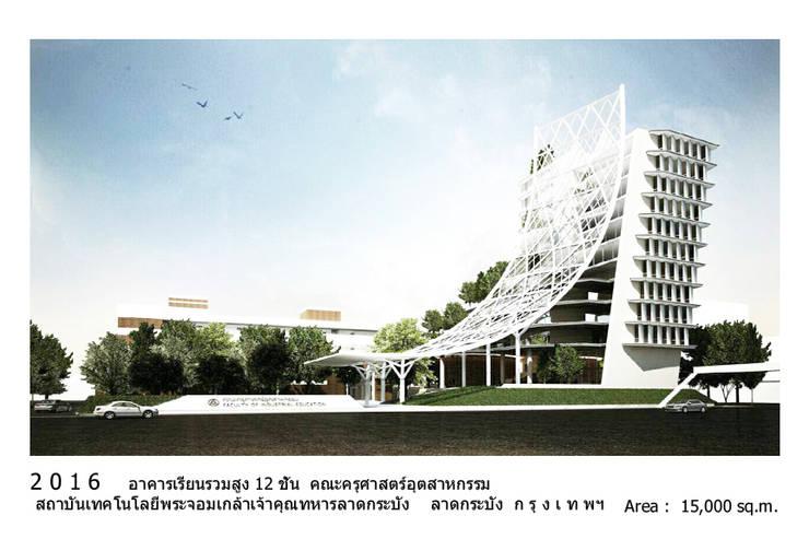 อาคารเรียนรวมคณะครุศาสตร์อุตสาหกรรม สถาบันเทคโนโลยีพระจอมเกล้าเจ้าคุณทหารลาดกระบัง:   by i am architect CO.,Ltd.