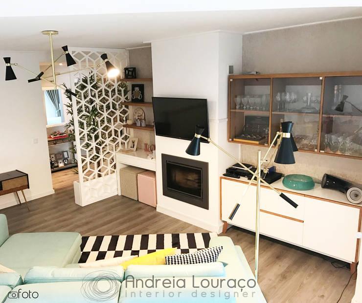 """Design de Interiores - SALA """"NORDIC, ROMANTIC AND ECLECTIC"""":   por Andreia Louraço - Designer de Interiores (Contacto: atelier.andreialouraco@gmail.com)"""