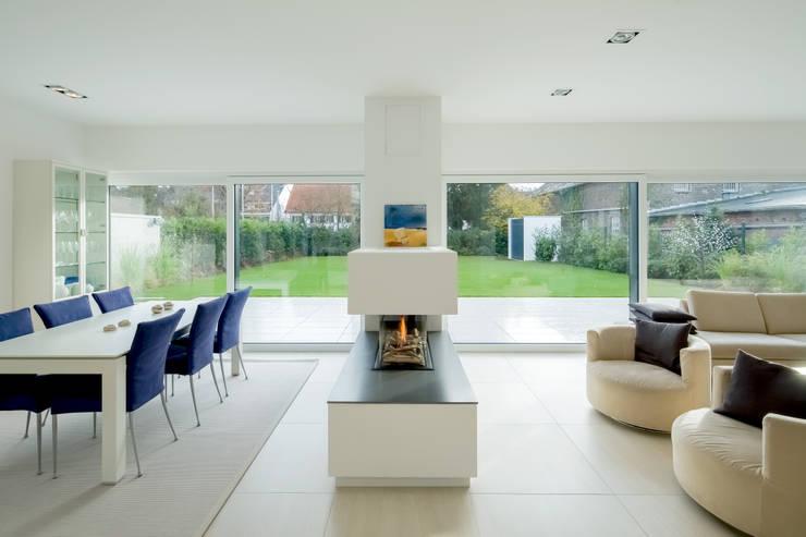 Projekty,  Salon zaprojektowane przez Ferreira | Verfürth Architekten