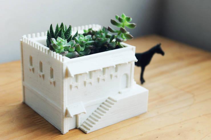 .Castillo: Hogar de estilo  por Fabric3D